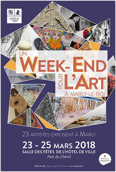 affiche Un Week-end pour l'art