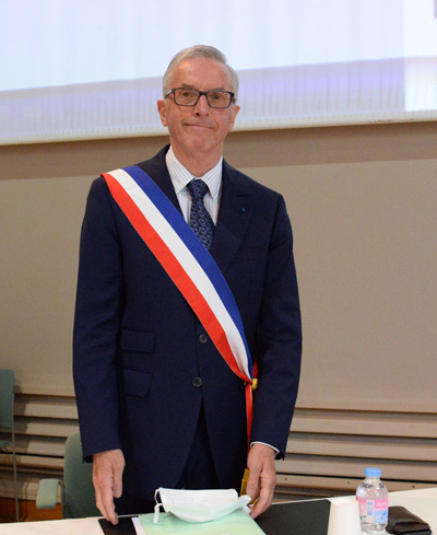 photo de Monsieur le Maire, réélu
