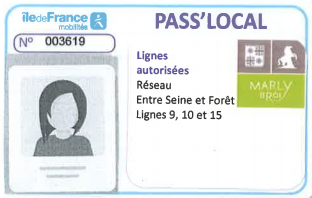 Pass local