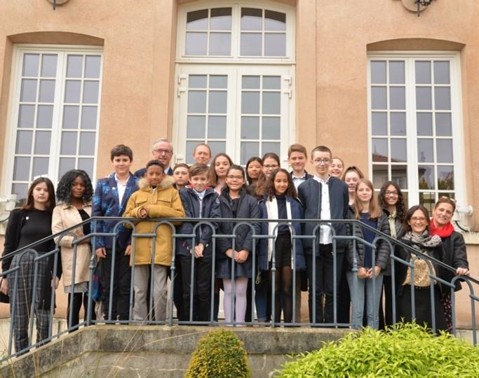 Les élus du Conseil Municipal des Jeunes de Marly-le-Roi
