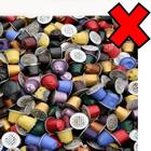 capsules de café non recyclables