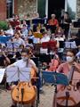 Concert au jardin par les élèves du Conservatoire