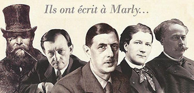 Ils ont écrit à Marly-le-Roi : Charles de Gaulle, Victorien Sardou, Alexandre Dumas fils, André Malraux, Saintine