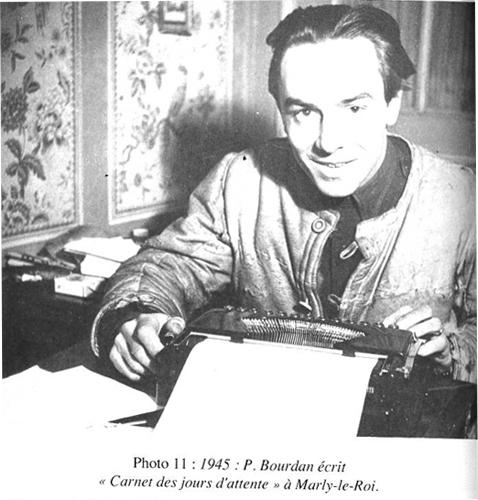 Pierre Bourdan écrit à Marly