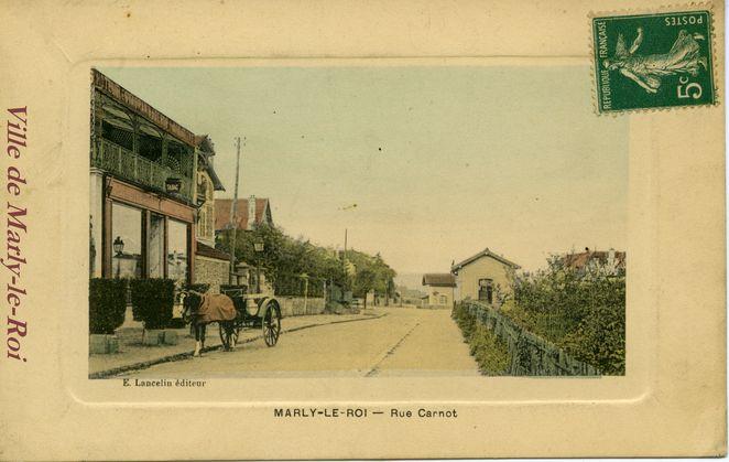 Avenue Carnot 1914