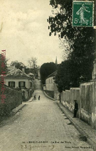 rue des Vaulx en 1909