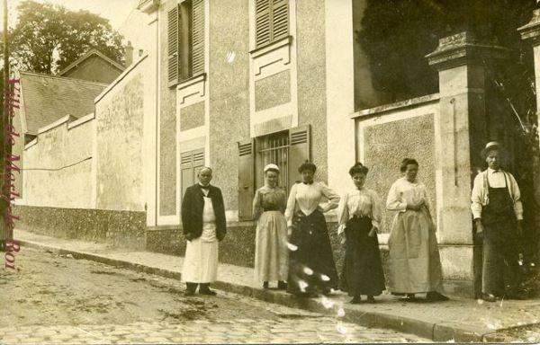 La rue Madame en 1908