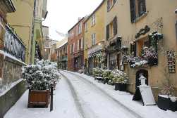 La Grande Rue sous la neige