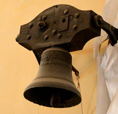 La cloche de la sacristie
