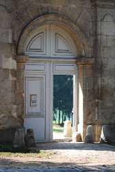 photo de la porte d'entrée du parc côte du Coeur volant
