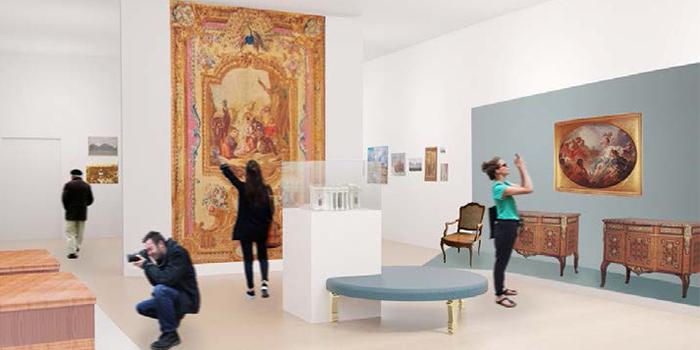 Vue intérieure du musée du Domaine royal de Marly @ Musée du Domaine royal de Marly