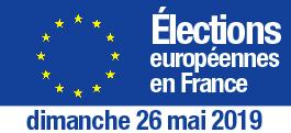 Élections européennes du 23 au 26 mai 2019