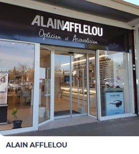 Alain Afflelou opticien et acousticien