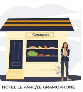 Hôtel Le Parc et Le Gramophone