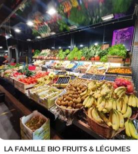 La famille bio fruits et légumes