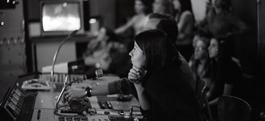 Le studio du collège expérimental audiovisuel @ Ville de Marly-le-Roi, fonds archives Claude et Françoise Gaillard