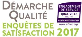 Démarche Qualité : présentation des résultats 2017