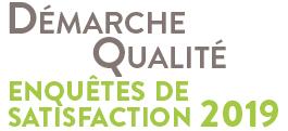 Démarche Qualité : présentation des résultats 2019