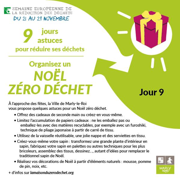 Jour 9 : organisez un Noël zéro déchet