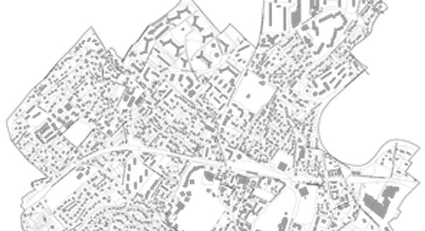 détail du cadastre de la Ville de Marly-le-Roi