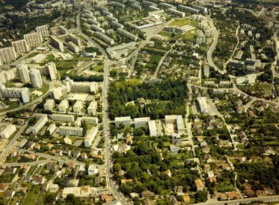 Vue aérienne de Marly-le-Roi © Ville de Marly-le-Roi