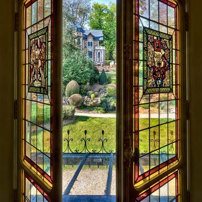 Vue sur le parc du château de Monte-Cristo © Château de Monte-Cristo